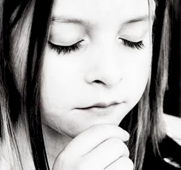 child pray for god